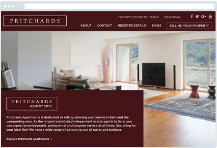Pritchards Website
