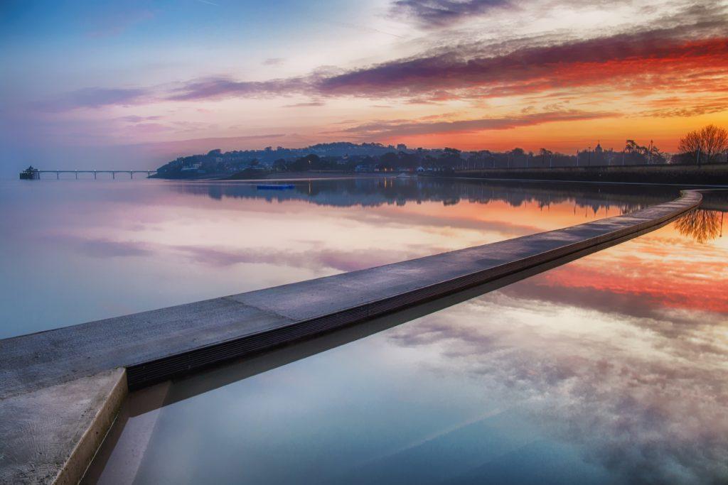 Clevedon, Marine Lake